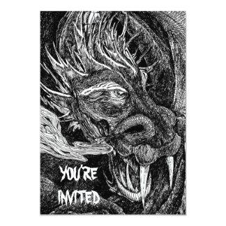 Dragon 'You're Invited' invitation