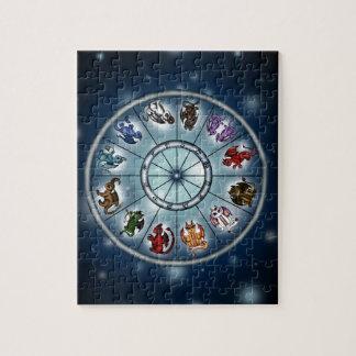 Dragon Zodiacsigns Jigsaw Puzzle