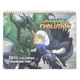 DragonArt Evolution Calendar