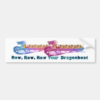 dragonboat race bumpersticker bumper sticker