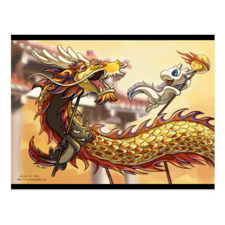 Dragonbros Chinese new year Postcard
