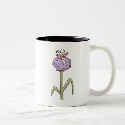 DragonButter · Butterfly Two-Tone Coffee Mug