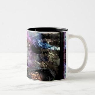 Dragoncat Sci-Fi Fantasy Series 2 Two-Tone Coffee Mug