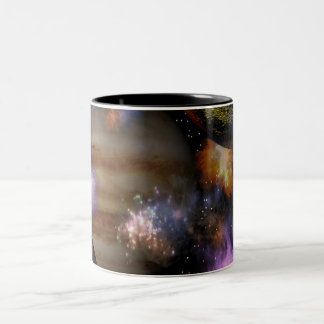Dragoncat Sci-Fi Fantasy Series 4 Two-Tone Coffee Mug