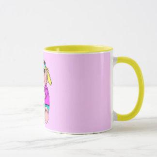 DragonCats LIL Critters Brat Girl Mug