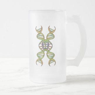 DragonCoaster y taza del filamento de la DNA