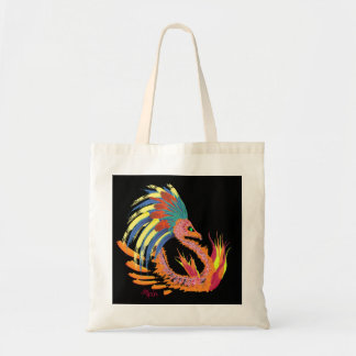 Dragone Fiammante Tote Bag