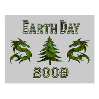 Dragones 2009 del Día de la Tierra Tarjetas Postales