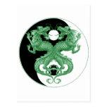 Dragones 4 de Yin Yang Postal