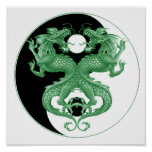 Dragones 4 de Yin Yang Posters