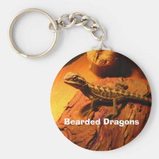 Dragones barbudos llaveros