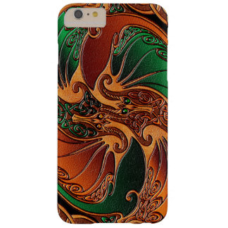 Dragones célticos funda de iPhone 6 plus barely there