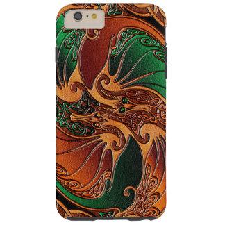 Dragones célticos funda para iPhone 6 plus tough