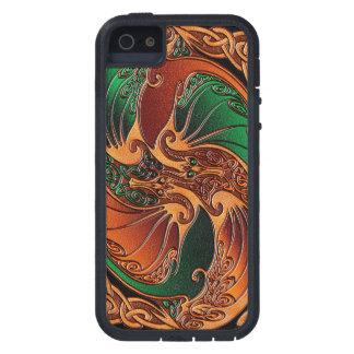 Dragones célticos iPhone 5 funda
