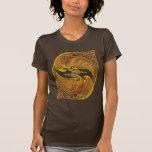 Dragones célticos ornamentales camiseta