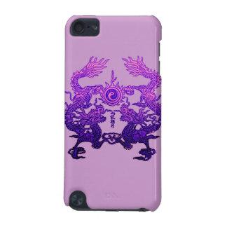 Dragones CHINOS de la púrpura del AÑO NUEVO