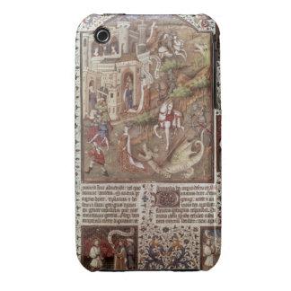 Dragones de la matanza de San Jorge Case-Mate iPhone 3 Carcasa