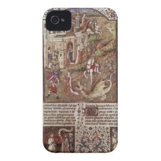 Dragones de la matanza de San Jorge iPhone 4 Carcasa