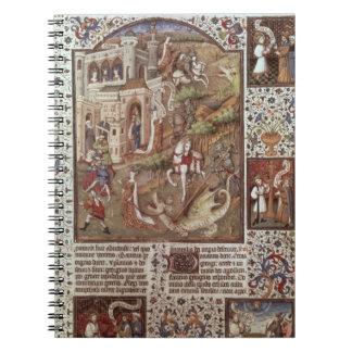 Dragones de la matanza de San Jorge Note Book