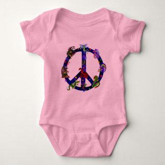Dragones de la paz body para bebé