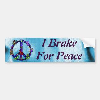 Dragones de la paz pegatina para auto