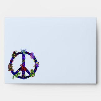 Dragones de la paz sobres