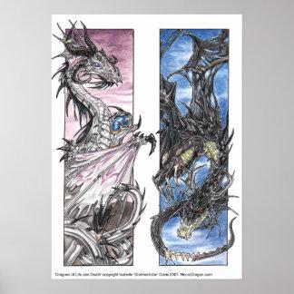 Dragones de la vida y de la muerte poster