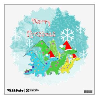 Dragones de las Felices Navidad