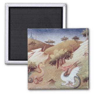 Dragones de ms Fr 2810 f.55v y otras bestias Imanes