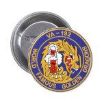 Dragones de oro VA-192 Pins