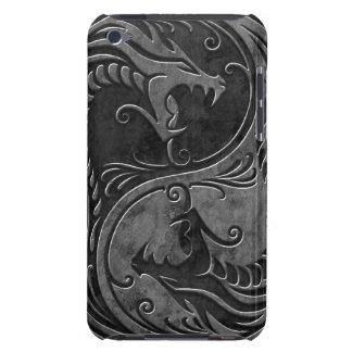 Dragones de piedra de Yin Yang iPod Touch Cobertura