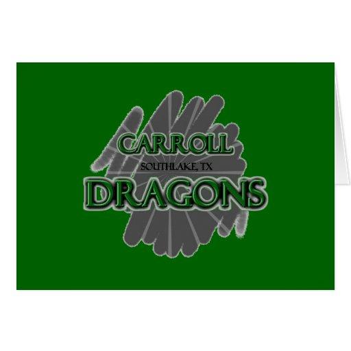 Dragones de Southlake Carroll - Southlake, TX Tarjetón