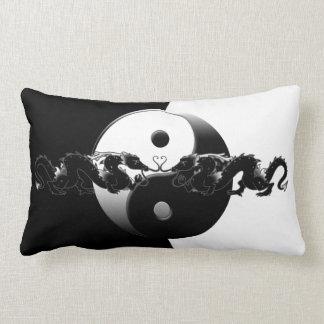 Dragones de Yin Yang Cojines