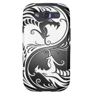 Dragones de Yin Yang Galaxy S3 Carcasas