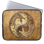 Dragones de Yin Yang, piedra Fundas Ordendadores