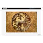 Dragones de Yin Yang, piedra Skins Para Portátiles