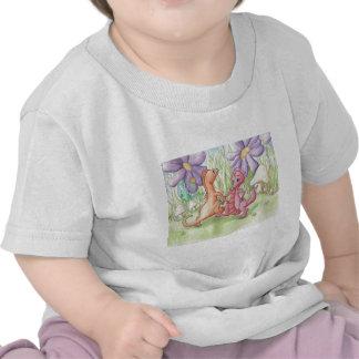 Dragones del baile camisetas