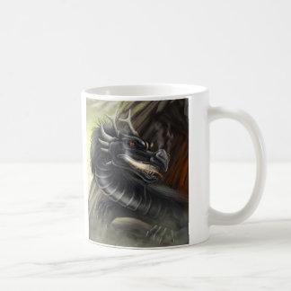 Dragones del DES del lignée del La - Tasse Taza Básica Blanca