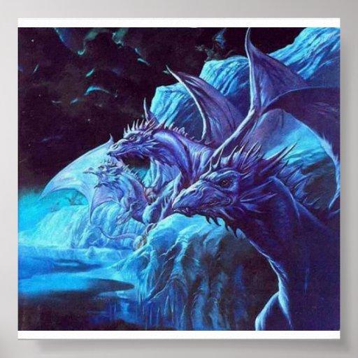dragones del hielo póster