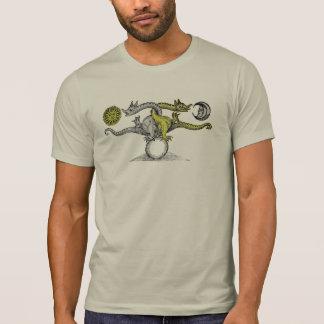 Dragones del pájaro de Hermes Camisetas