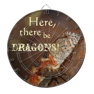 Dragones, lagarto anaranjado