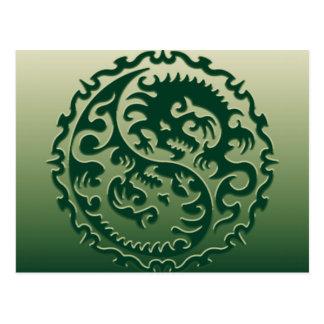 Dragones mágicos 2 de Yin Yang Postal