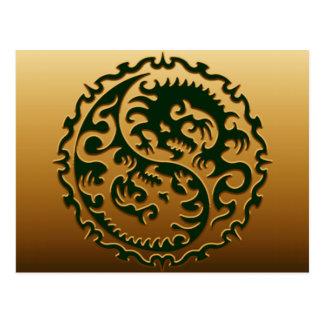 Dragones mágicos 3 de Yin Yang Postal