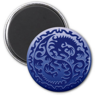 Dragones mágicos de Yin Yang Imán