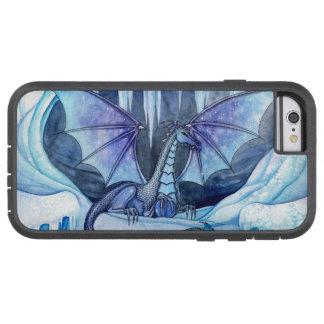 Dragones místicos de las ilustraciones del arte de funda de iPhone 6 tough xtreme