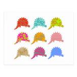 Dragones modelados tarjeta postal