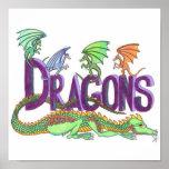 Dragones Poster