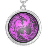 Dragones, púrpura y negro de Yin Yang Joyería