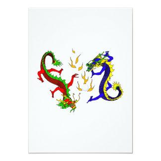 Dragones que luchan comunicados personales
