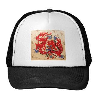 Dragones rojos del oro de NOVINO n Gorra